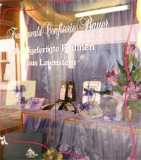 Frankenwald Confiserie Bauer in Lauenstein - Cafe, Werksverkauf, Pralinenmanufaktur